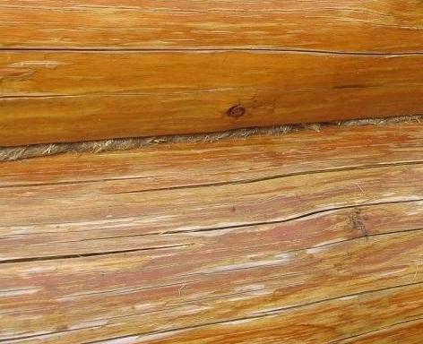 обработка  швов деревянного дома